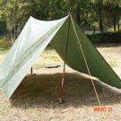 3 * 3m Outdoor Awning Waterproof Hiking Camping Mat  Camouflage Camping Mat Mattress Multi