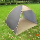 freeshipping quick automatic opening tourist waterproof 1-2 person tent camping tent sun s