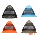2-3 Persons Outdoor camping hiking beach summer UV protection fully sun shade quick open p