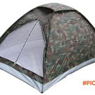 outdoor Construction Based on Need  Single Layer camouflage camping tent for two person 20