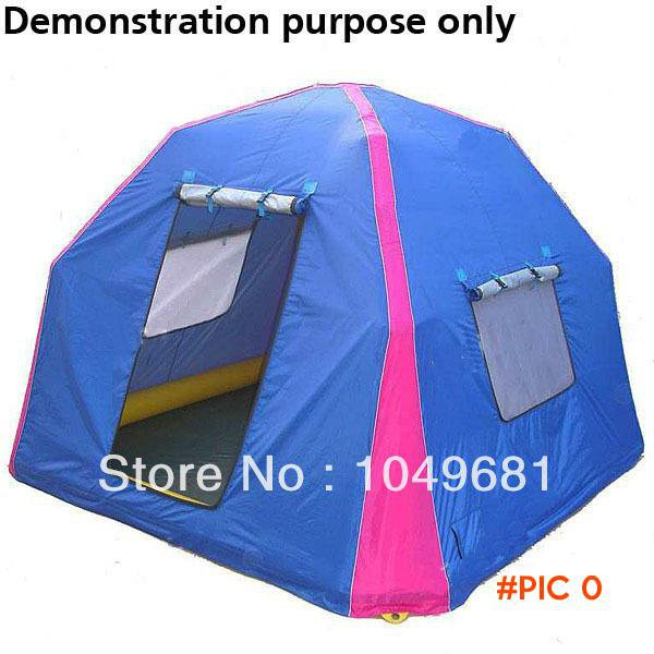 Tactical Three-Person Camping Tent Tent Pack with Carrying Bag for Camping Beach Outdoor A