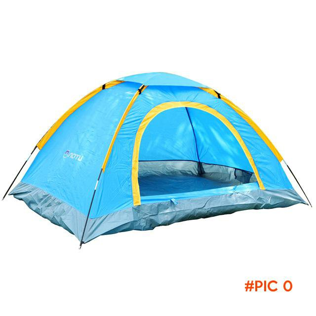 Hot Sale 2 Persons Double-sided Zipper Beach Tent Portable Waterproof UV-resistant Tents f