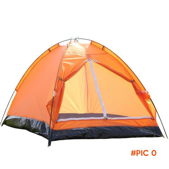 1-2 Person Camping Tents Portable Outdoor Hiking Single Layer Tent Adventure Carpas Beach