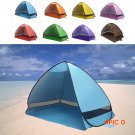 2016 New Arrival pop up open beach tent 1-2 persons Manufacturers sold outdoor fishing ten