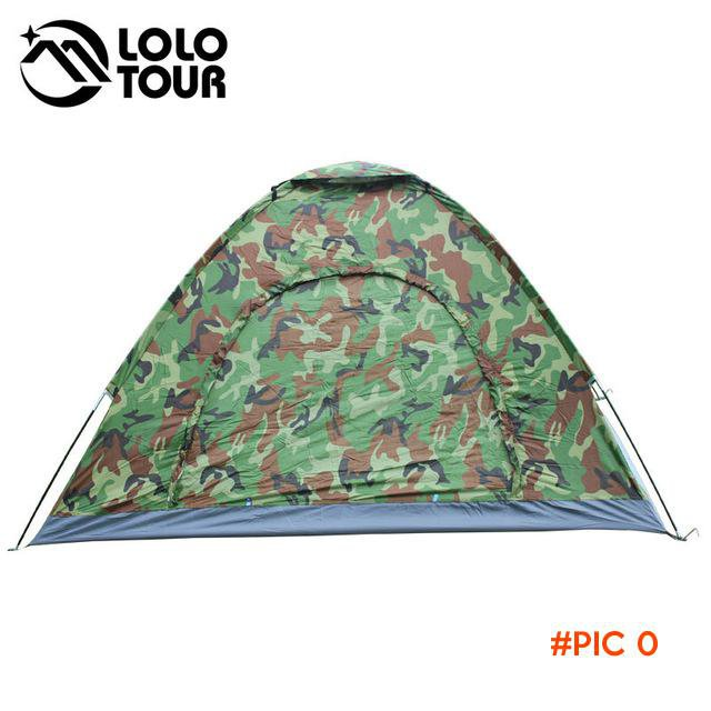 Outdoor Carpas Camping Military Tent Ultralight Camouflage Teepee Beach Fishing Hunting 3-