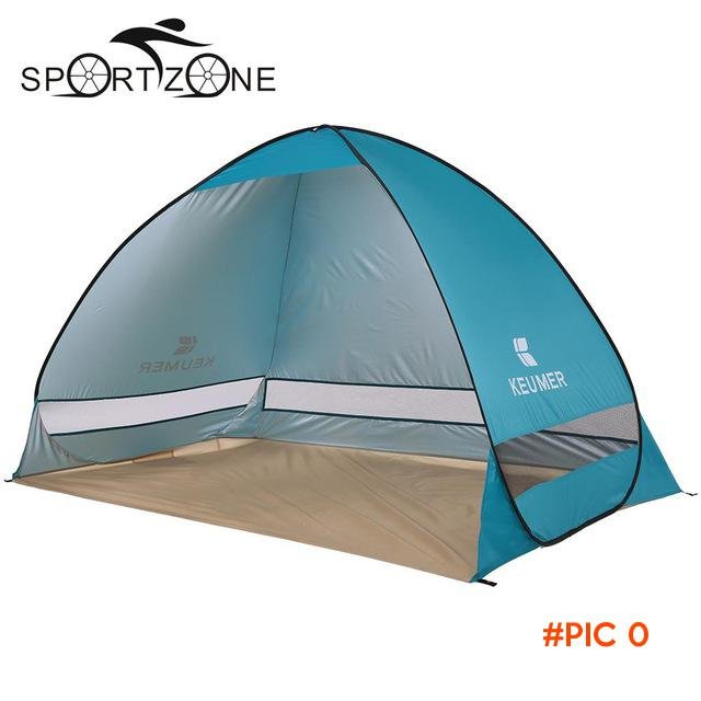 One Second Quick Open Outdoor Camping Fishing Beach Tent Automatic Opening Sun Shelter UV-