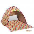 1- 2person beach tent pop up open  quick automatic opening 90% UV-protective waterproof fo
