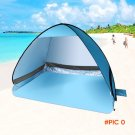Camping Hiking Hunting Fishing Beach Picnic Quick Automatic Open Instant Portable Cabana T