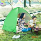1-2 person Summer Automatic fishing beach Anti UV Layer Tent Ultralight Outdoor Hiking Cam