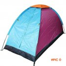 Free Shipping Brand New Waterproof UV Outdoor Hiking Tents 1-2 persons Camping Tent Pack w