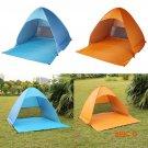 Popup Beach Tent Canopy Sun Shade Shelter Auto Ultralight Camping Waterproof BC621