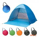 New 1-2 Persons Fishing Tent Outdoor Camping Hiking Beach Summer Tent UV Protection Fully