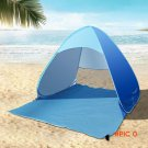 Full automatic free to set up camping Beach Sun tent speed open single layer outside the a
