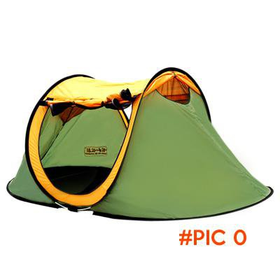 High quality 2person single layer three-season automatic camping outdoor tent BC646