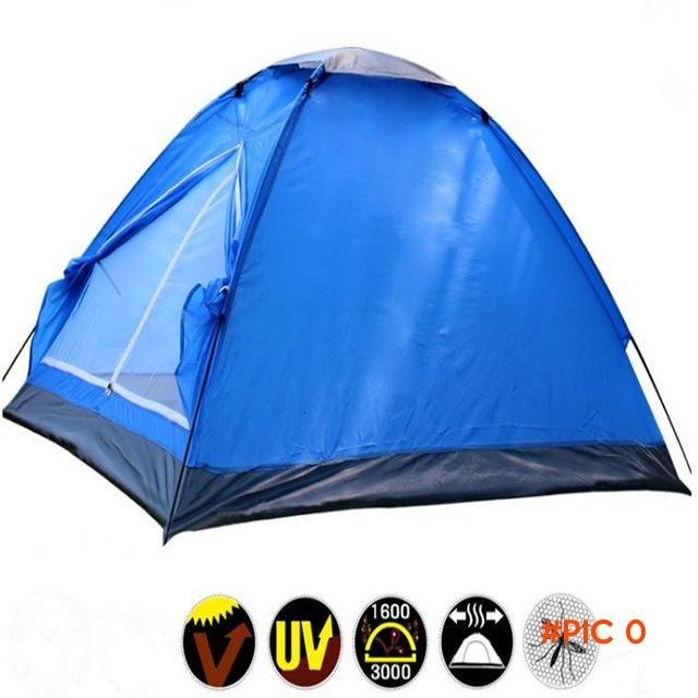 Hot Sale Ultralight Waterproof windproof PE Fiberglass rod 2 person 4 season single layer