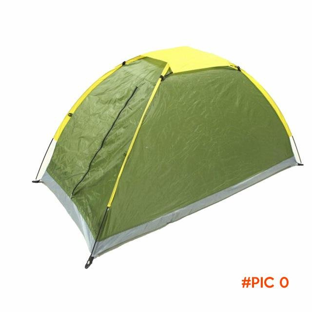 1pcs single-layer 4season  waterproof outdoor camping tent lightweight hiking trekking bac