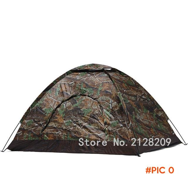 2-4 Person Single Layer Camping Tents Waterproof Outdoor Camping Hiking Portable Spring Su