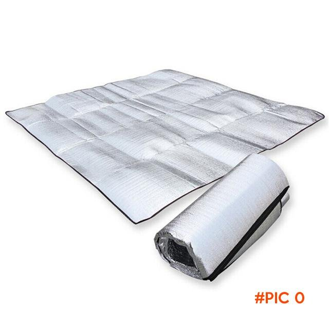 New 1*2M 1.5*2M 2*2M Three Sizes Sleeping Mattress Mat Pad Waterproof Aluminum Foil EVA Ou