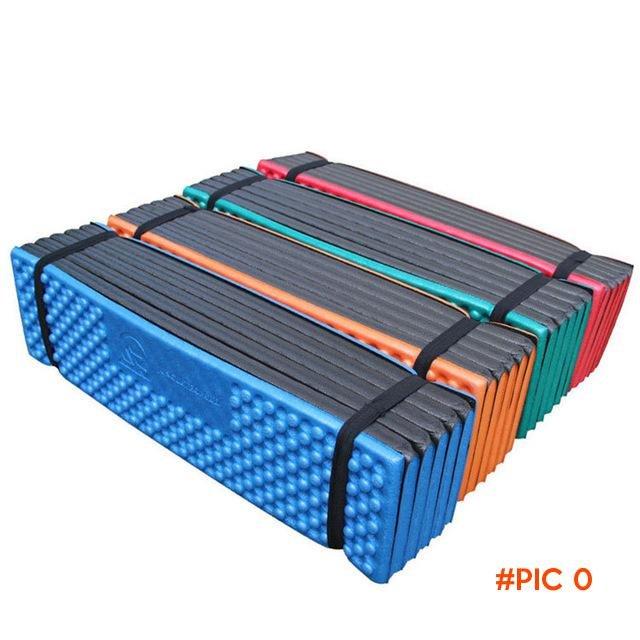 Outdoor Camping Mat Ultralight Foam Picnic Mat Folding Egg Slot Beach Mat Tent Sleeping Pa