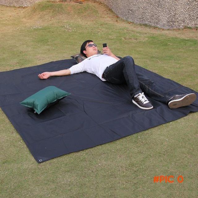 Delicate Promotion Tarp Airbed Waterproof Outdoor Picnic Beach Camping Mat Camping Tarpaul
