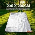 Folding Outdoor Camping Mat Inflatable Mattress Sleeping Mattress Mat Pad Waterproof Alumi