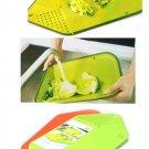 Kitchen Foldable Chopping Block Creative Non-slip Folding Cutting Board Camping Outdoor Ch