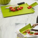 Kitchen Camping Picnic Flexible Plastic Versatile Chopping Cutting Board Mat New BC192