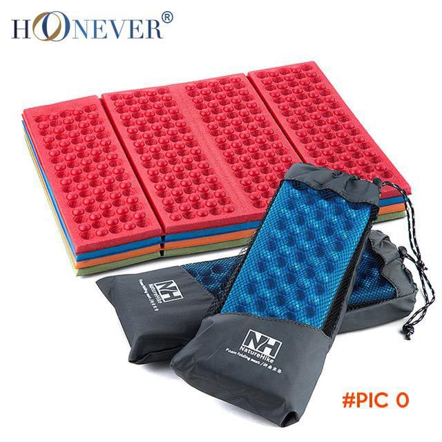 2PCS Naturehike Outdoor Folding Camping Mat Cushion 4 Colors Single Person Portable Wearpr