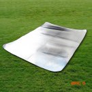 Travel Moisture Proof Mat Outdoor Hiking Camping Mat Picnic Aluminum Foil Double Sided Sle