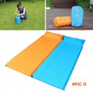 185*60cm Self Inflate Camping Mat Inflatable Pillow Sleeping Bag Cushion Bed Roll Promotion BC254