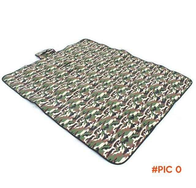 180CM * 150CM Outdoor Portable Camping Mat Camouflage Coussin Sleeping Pad Beach Mats BC293
