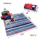 TOMSHOO 135*150cm Outdoor Beach Picnic Camping Mat Multiplayer Fold Waterproof Moisturepro