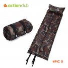Actionclub Folding Tent Bed Self-inflating Camping Mat Inflatable Folding Mattress Picnic