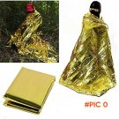 new2015 New Myler Waterproof Emergency Survival Foil Thermal First Aid Rescue Blanket Tent