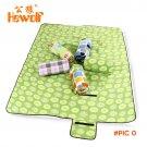 Polar Fleece Pearl Cotton Picnic Camping Mat Foldable Outdoor Leisure Camping mat Moisture