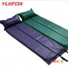 YUETOR picnic beach camping mat folding tent air bed automatic inflatable sleeping pad tap