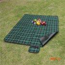 210cm*150cm  Outdoor Beach Picnic Camping Mat Multiplayer Fold Waterproof Moistureproof Ba