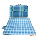 200cm*200cm Suede Picnic Mat Waterproof Moistureproof Camping Mats Hiking Pad Outdoors Bea