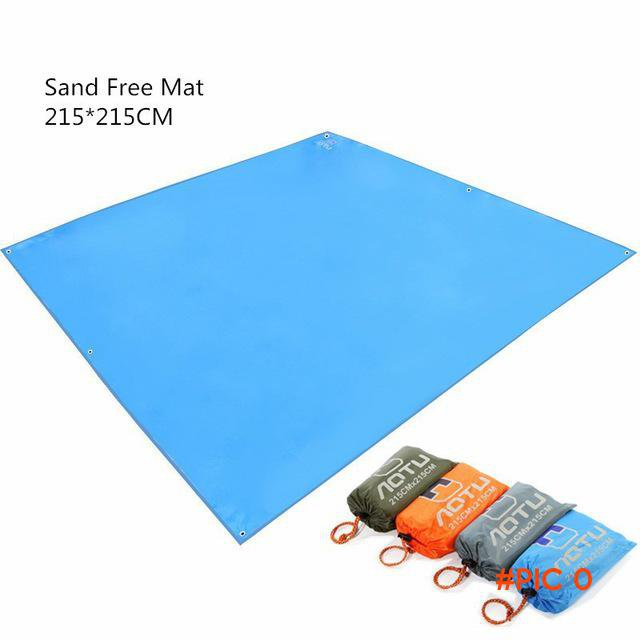 New Design Oxford 215*215CM Sand Free Mat Outdoor Camping Mat Picnic Mattress Beach Mat Bl
