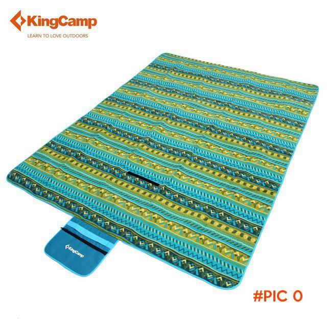 KingCamp Fleece Picnic Blanket Waterproof Camping Mat for Camping Beach Polar Fleece Picni