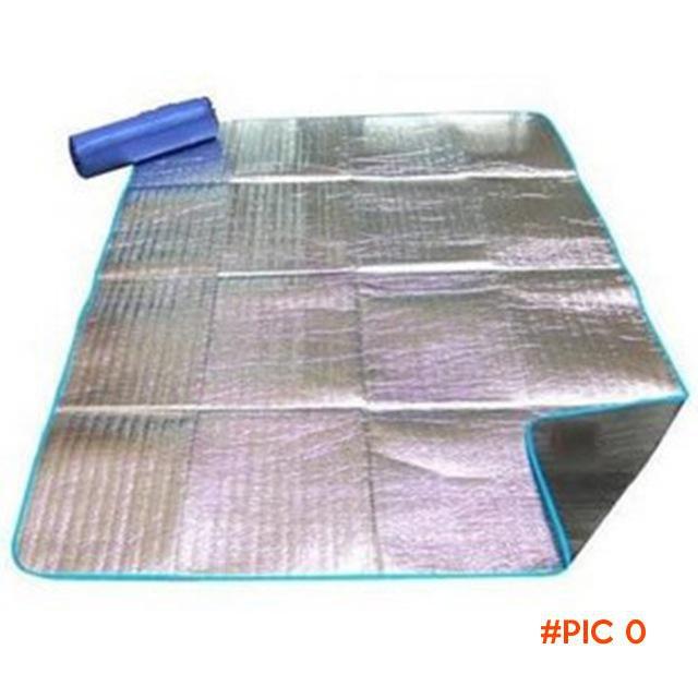 200*200cm EVA Aluminum Camping Mat Folding Sleeping Mattress Mat Pad Waterproof Foil EVA O