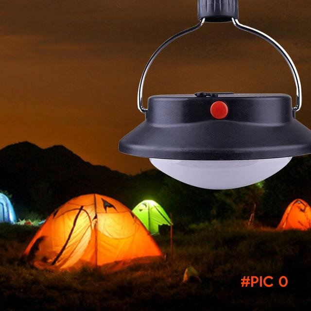 New Promotion Portable 60 LED Camping Outdoor Light Rechargeable Tent Umbrella Night Lamp