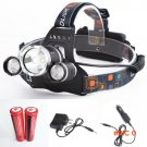 Best 6000 Lumen CREE XM-L T6 LED Headlamp Headlight Caming Hunting Head Light Lamp 4 Modes