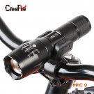 Professional Waterproof CREE XM-L T6 3800LM Bicycle Light Torch Zoomable LED Flashlight Bi