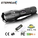 Hot Sale E17 CREE XM-L T6 LED 3800 Lumens Outdoors Led Torch LED Flashlight  For Camping T