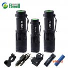2016 new Zoom Mini flashlight LED torch cree XML T6 XM-L L2 xm l q5  lanterna waterproof U