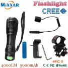 zk30 CREE XM-L T6 4000LM Lantern LED tactical Flashlights Linterna Torch Light Hunting Fla