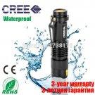 50% off lanterna 3000 lumens lm led edc flashlight LED torch zoomable cree Q5 black lamp s