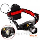 Mini headlamp  cree  Q5 led edc head lamp Zoomable linterna frontal use 3AAA for camping n