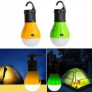 Outdoor Portable Hanging LED Camping Tent Light Bulb Fishing Lantern Lamp Torch 2 Colors E